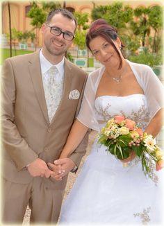 ♥ Braut in einem Brautkleid von Schmetterling ♥