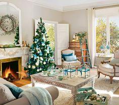 Uma sala e três ideias de decoração para esse Natal