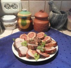 Meat Recipes, Bacon, Food And Drink, Chicken, Cooking, Advent, Bors, Bulgur, Kitchen