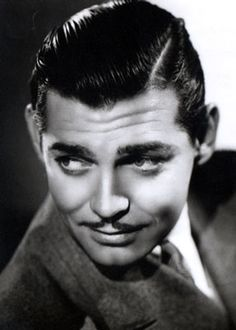 Clark Gable-- I would have stalked him so hard back in the days =]
