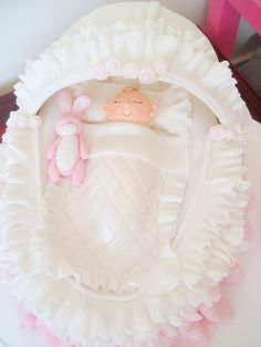 Baby's crib cake by deborah hwang, via Flickr