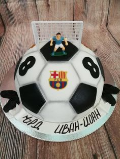 Ball by Galito Ball by Galito The post Ball by Galito appeared first on Pink Unicorn. Sports Birthday Cakes, Soccer Birthday, Adult Birthday Cakes, Birthday Cakes For Women, Cakes For Boys, Fancy Cakes, Cute Cakes, Manchester United Birthday Cake, Soccer Ball Cake