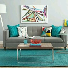 Bright is right! Interior that'll chear you up)
