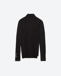 Image 8 of POLO NECK SWEATER from Zara
