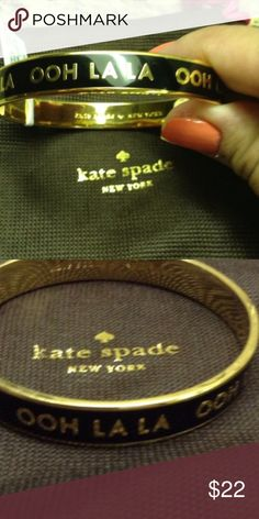 Kate Spade Bracelet Bought on Poshmark a few years ago.  These are the pictures from the original posting - I will post more photos when I get home. -- there's no dust bag and I don't have the tags anymore. kate spade Jewelry Bracelets