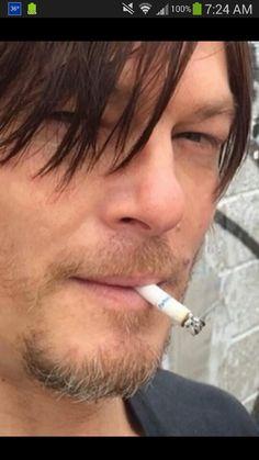 Norman Reedus hope he quits smoking