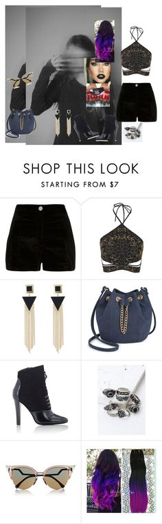 """""""Wherever I Go #OneRepublic"""" by diane-ds ❤ liked on Polyvore featuring River Island, Topshop, INC International Concepts, 3.1 Phillip Lim, Forever 21 and Fendi"""