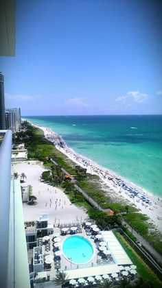 Nice view from penthouse (Eden Roc, Miami beach, FL.-