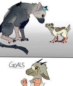 gryphon goals by Oricori on DeviantArt