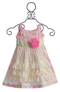 Giggle Moon Simply Beautiful Lace Apron Dress $66.00