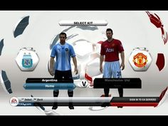 I decided lets have a match between a great International team and a great Club team. So here we have Argentina take on Manchester United in FIFA 13. The game is exciting one with lots of chances and misses like it is in soccer/football. Will Messi Score this time around? With red cards, fouls and great action this one is definitely worth watching.