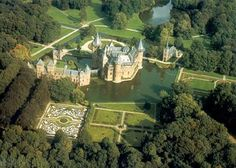 Kasteel De Haar (De Haar Castle) near Utrecht where Fantasy Fair is celebrated each year