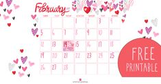 Free Printable February Calendar - American Greetings Blog