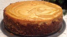 Pumpkin Swirl Gingersnap Cheesecake, You found it! The best cheesecake recipe ever. A wonderful Fall treat or addition to the holiday dessert table. Best Pumpkin Cheesecake Recipe, Easy Cheesecake Recipes, Pumpkin Recipes, Cheescake Recipe, Easy Recipes, Cheesecake Nyc, Basic Cheesecake, Cheesecake Bites, Strawberry Cheesecake