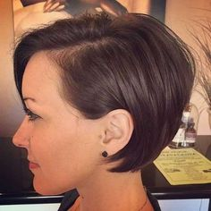 The best collection of Very Short Bob Haircuts Latest and best Very Short bob hairstyles, haircuts, hairstyle trends Pixie Bob Haircut, Short Bob Haircuts, Short Hairstyles For Women, Hairstyles Haircuts, Hairstyle Short, Medium Hairstyles, Bob Bangs, Longer Pixie Haircut, Long Pixie Hairstyles
