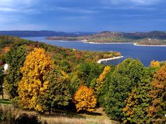 Table Rock Lake in the fall http://bransonticket.com/products/area-lakes/table-rock-lake