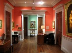 Ideas For Decor Hallway Walls Moldings Coral Room, Living Room Color Schemes, Accent Wall Bedroom, Accent Walls In Living Room, Shabby Chic Girl Room, Furniture Styles, Beach Living Room, Contemporary Room, Interior Design Bedroom