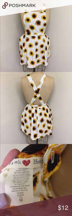 Derek Heart size M sunflower dress Derek Heart size M sunflower dress Derek Heart Dresses Mini
