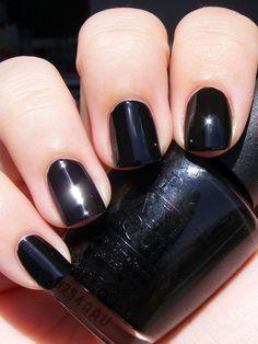 love me some black nail polish