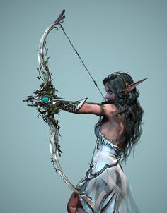 ArtStation - Tyrande - High Priestess of Elune, George Panfilov
