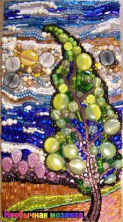 НЕОБЫЧНАЯ МОЗАИКА: Мозаика из бисера от Stephanie Failmegzer