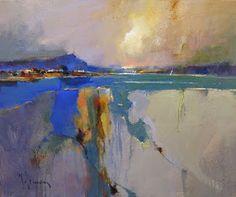 Por amor al arte: Peter Wileman Abstract Landscape Painting, Seascape Paintings, Landscape Art, Landscape Paintings, Abstract Art, Landscapes, Great Paintings, Impressionist Art, Art Graphique