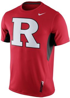 Full steam ahead. Recharge your fan gear with this men's Rutgers Scarlet Knights t-shirt from Nike. PRODUCT FEATURES Crewneck Short sleeves Polyester, cotton, rayon Machine wash Imported