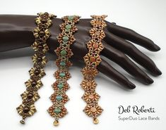Beaded Bracelet Patterns, Beading Patterns, Beaded Bracelets, Beading Tutorials, Beading Ideas, Sell Items, Seed Beads, Free Pattern, Crystals