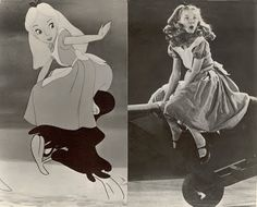 kathryn beaumont - voice and live model for alice in wonderland