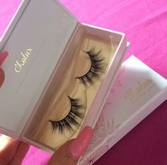 Best seller: Our LOTUS No. 410 lashes are perfect for creating a glamorous doll eyed look.
