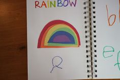 Playing House: Preschool Journal: R is for Rainbow