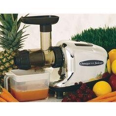 Omega Juicers Multi Purpose Juicer Food Processor J8005