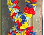 Autism Ribbon Wreath ~ Jenna made one of these and it's REALLY beautiful!
