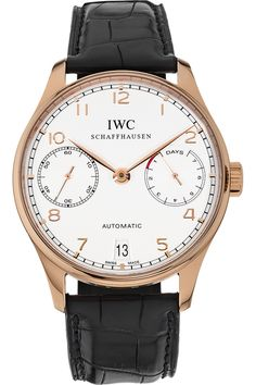 Certified Pre-Owned IWC 18K Rose Gold Portuguese Automatic watch