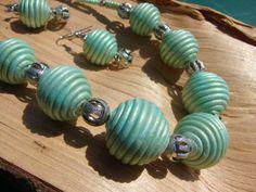 Rosa v trávě Necklaces, Bracelets, Turquoise Bracelet, Polymer Clay, Pendants, Pendant Necklace, Jewels, Beads, Gallery