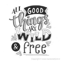 #lettering #handlettering #quotes #marijketekent