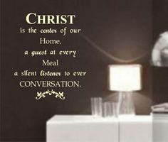 Christian Wall Stickers Quotes | Christ Wall Quote Decal Sticker Christian Jesus Religion Art Graphic