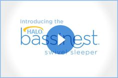The revolutionary HALO® Bassinest® Swivel Sleeper is the only baby bassinet that swivels to bring baby to you for close & safe sleep.