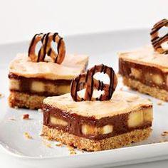 Chocolate, Peanut Butter and Pretzel Bars