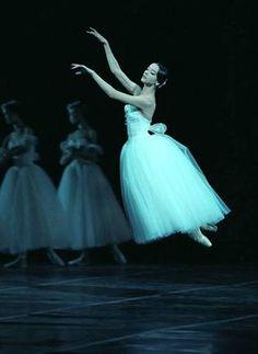 Svetlana Lunkina - Bolshoi Ballet. She so looks like a Giselle! and very light and flutterly looking too. Photo: Nadezhda Bausova