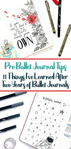 What I've Learned Since I Started My Bullet Journal 2 Years Ago: Bullet journals are a lot of work, so learn from my examples! 11 things that will help you conquer your bullet journal journey. Great bullet journal tips for beginners! #bulletjournal #howtobulletjournal #bulletjournaling #bujo #planner #journalideas #bujotips #bulletjournalcommunity #notebooks