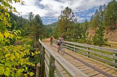 "There's no reason to yell ""Car back!"" on America's rail trails, where..."