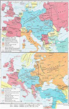 World War I 1914-1918 - 2015 Maps & Atlas