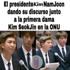 Read from the story Memes De Bts by Milk__PJM (⌲ L i e ❀) with 71 reads. Namjin, Seokjin, Taehyung, Bts Bangtan Boy, Rapmon, Jung Hoseok, K Pop, Song Meme, Vkook Memes