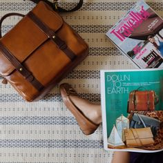 Cleveland Travel and Camera Bag featured on Condé Nast Traveller magazine