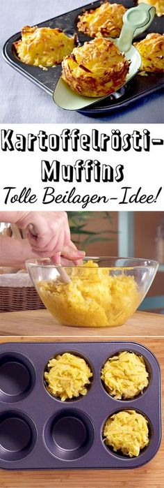 Hash browns muffins From only 3 ingredients, we conjure up a potato salad that just thrilled. Tastes great Shredded G browns Hash muffins winterbastelnkinder wintercoffee winterdeko winterflowers winterfotografie winterhouse wintermakeup winterposter Muffin Recipes, Potato Recipes, Breakfast Recipes, Chicken Recipes, Breakfast Hash, Brunch Recipes, Easy Recipes, Snacks Recipes, Popular Recipes