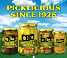 Welcome to Mt. Olive Pickles - Thats Picklicious!