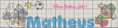 Viviane Pontos e Art's: Nomes Letra M