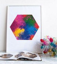 Cuadros con pigmentos 3
