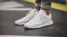 "Adidas ZX Flux Adv ""All White"""
